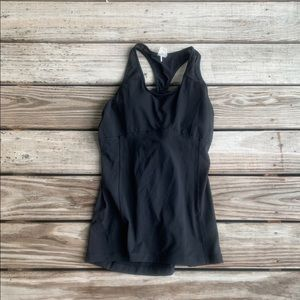 CALIA cross backed workout tank top size large